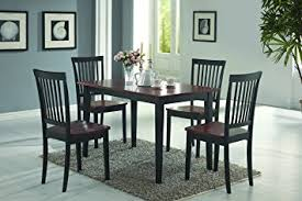 Coaster Dining Room Sets Amazon Com Coaster Home Furnishings 5 Piece Modern Transitional
