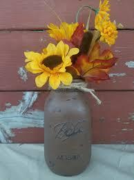 fall decor fall mason jar sunflower decorations