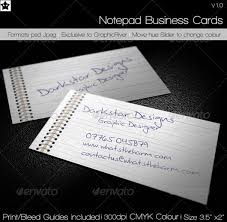 business card notebook 30 fresh and striking business cards in pristine white skytechgeek
