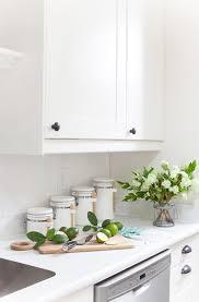 white kitchen cabinets laminate countertops white carrara laminate countertop the lettered cottage