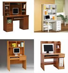 Computer Desk Prices Factory Price Wooden Computer Shelf Study Computer Desk