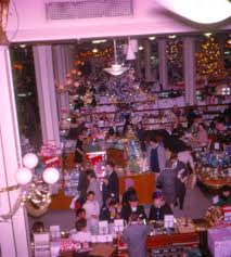 pleasant family shopping christmas at macy u0027s herald square 1962