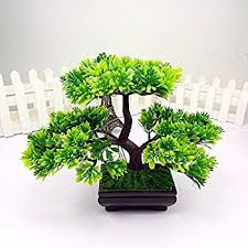 artificial japanese zen bonsai tree home planet with