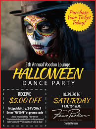 voodoo lounge 5th annual halloween dance party fess parker
