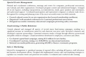 event manager resume event planning resume 6 event planner resume