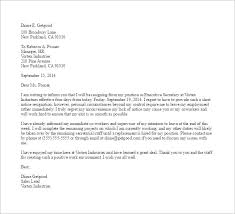 11 notice of resignation letter templates u2013 free sample example
