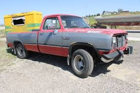 dodge ram parts 1992 dodge ram 250 parts truck no motor solid chassis no