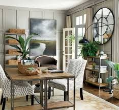 how to decorate a spacious home office homeideasblog com tropical spirit 7 jungle edge decorating your home office