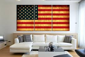 flag decorations for home wall designs vintage american flag wall large wall