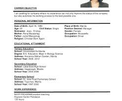 Formatting Education On Resume What Is The Format Of A Resume Best Resume Format Doc Resume