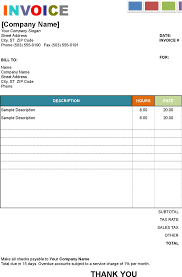 Service Charge Invoice Template by Download Painting Invoice Template Word Rabitah Net