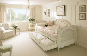 exciting mini bed nuanced in cute white installed at bedroom