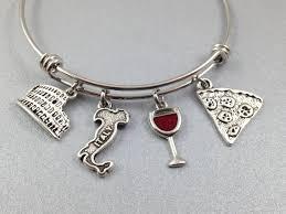 themed charm bracelet italy charm bracelet italy themed charm bracelet italy charm