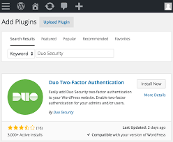 duo for wordpress duo security