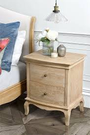 two drawer bedside table miraval french vintage style 2 drawer bedside table my furniture