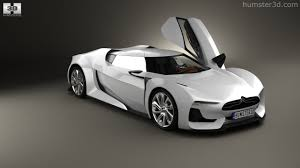 citroen supercar 360 view of citroen gt with hq interior 2008 3d model hum3d store