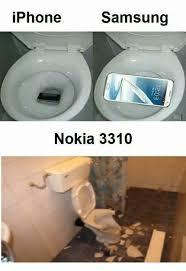Nokia 3310 Meme - iphone samsung nokia 3310 nokia meme on me me