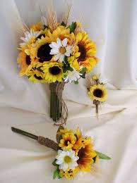 Sunflower Wedding Bouquet 47 Best Sunflower Wedding Ideas Images On Pinterest Sunflower