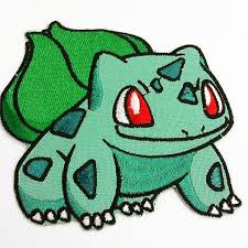 inspired bulbasaur iron on patch realms anime shop
