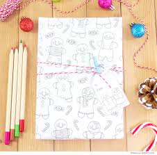 gingerbread man writing paper gingerbread man printable colouring gift wrap little luxuries loft gingerbread12 jpg