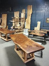 natural live edge wood dining tables serving the greater seattle