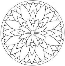 flower mandala coloring free printable coloring pages