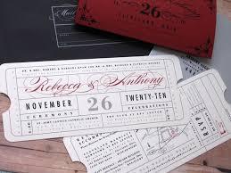 ticket wedding invitations ticket wedding invitations plumegiant