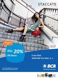 bca aeon aeon mall bsd city on twitter rt staccato id only today use
