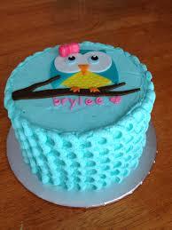 sugar love cake design owl smash cake