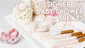 baby shower treats diy 4 easy designer baby shower treats