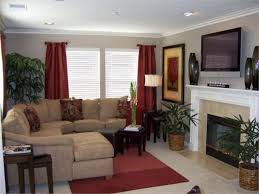 Gray And Red Living Room Ideas by Tan And Red Living Room Grey Fur Rug White Window Shades Blinds