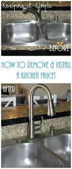 removing kitchen sink faucet kitchen sink install kitchen sink faucet replacing kitchen