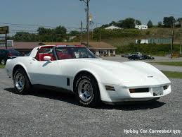 1981 white corvette rod 5spd t top