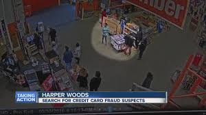 home depot credit card black friday special man and woman caught on video using fraudulent credit cards at