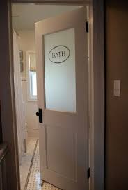 Modern Bathroom Doors Amazing Bathroom Doors With Glass Best 20 Ideas On Intended For