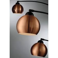 lite source braun dark bronze 3 light arc floor lamp ebay