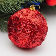 sequins decorate balls 8cm luxury golden tree