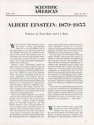 albert einstein 1879 1955 modern mechanix