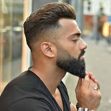 styling a sling haircut dapper haircuts high fade with brush back and beard sling bag
