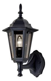 oaks lighting 171upbk black upturned outside light