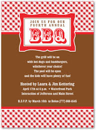 classic red plaid bbq party invitations barbeque invitations 23900