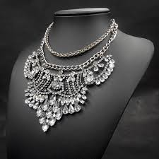 big necklace pendants images 2014 new fashion necklace vintage silver big chunky chains jpg