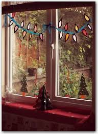 124 best festive window decorations images on pinterest