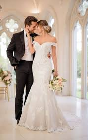 wedding dreses glamorous mermaid wedding gown stella york wedding dresses