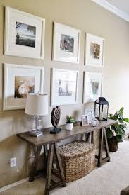 Sofa Table Best 25 White Sofa Table Ideas On Pinterest Hall Table Decor