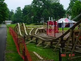 roller coaster for backyard dad builds backyard roller coaster for daughter coasterbuzz