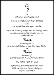 wedding quotes hindu hindu wedding invitation card wordings parekh cards wedding