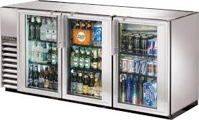 bar refrigerator glass door fleshroxon decoration