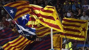 Estelada Flag Barcelona Estelada Ban A Free Speech Attack Liga 2015 2016