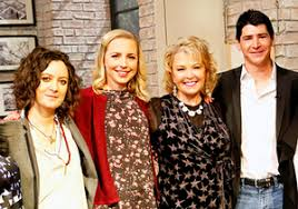 new look for roseanne barr 2015 with blonde hair roseanne reunion see the cast today and roseanne barr s blonde new